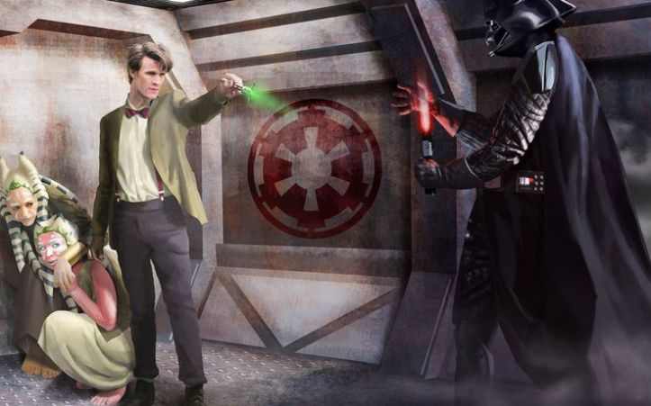Doctor Who VS Star Wars