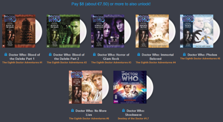 Humble AudioBook Bundle - Doctor Who y Torchwood - 8E