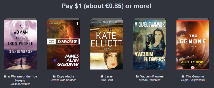 Humble Book Bundle: Adventures in Science Fiction 01