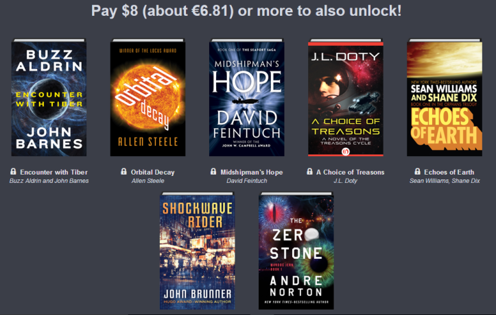 Humble Book Bundle: Adventures in Science Fiction 02