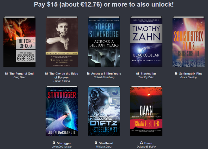 Humble Book Bundle: Adventures in Science Fiction 03